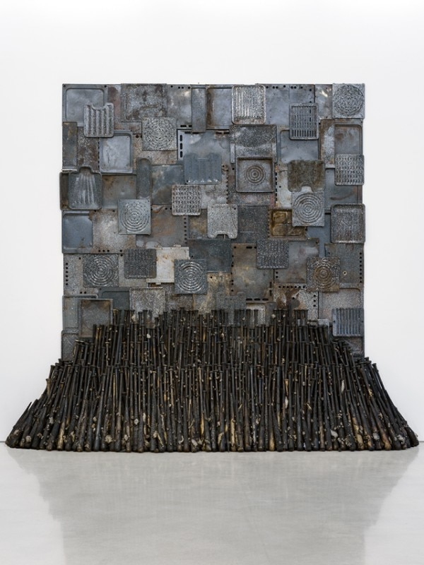 Nari Ward, Iron Heavens, 1995, Perez Art Museum Miami