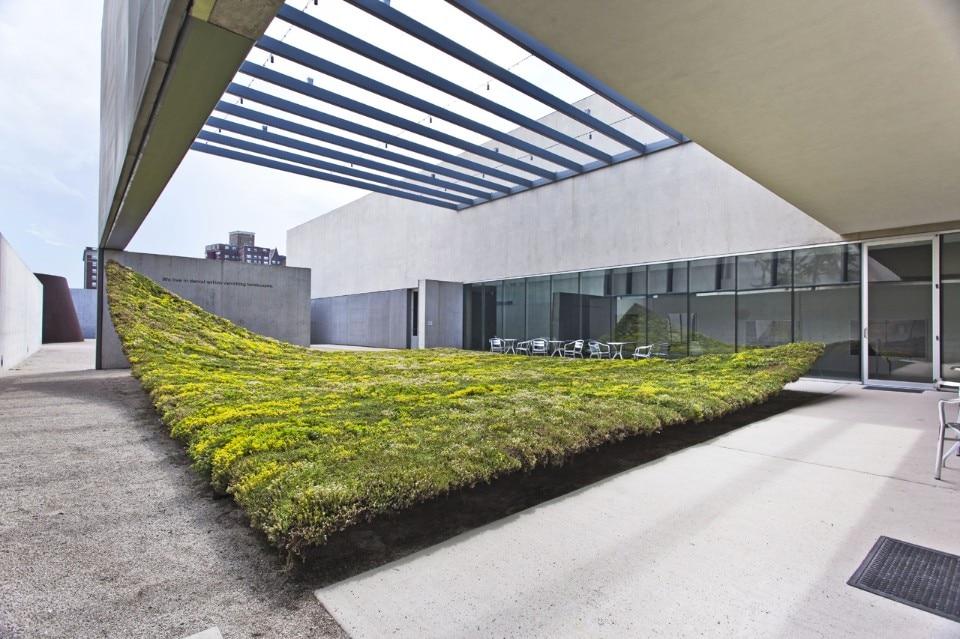 Suspended garden domus for Domus green