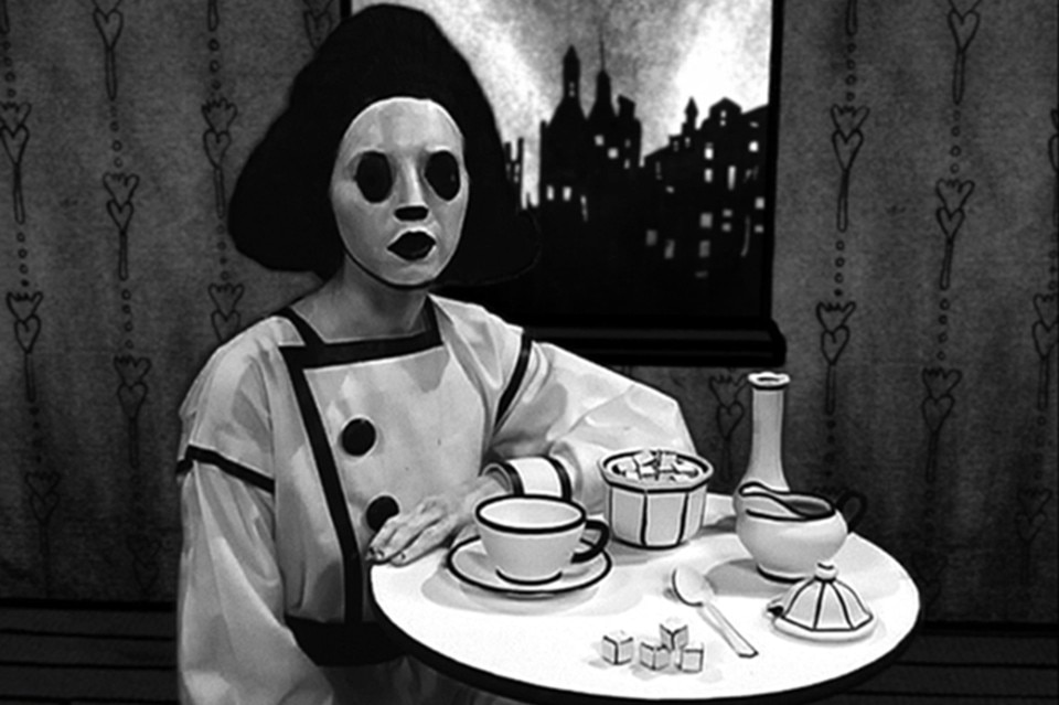 Mary Reid Kelley, Sadie, The Saddest Sadist, 2009. Video, black-and-white, sound; 7:23 minutes. Courtesy of the artist, Susanne Vielmetter Los Angeles Projects and Fredericks & Freiser Gallery, New York