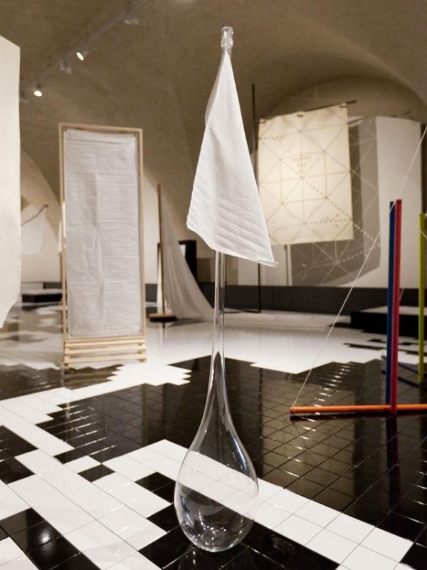 White Flag Italy Pavilion At The London Design Biennale 2016 Photo Maria