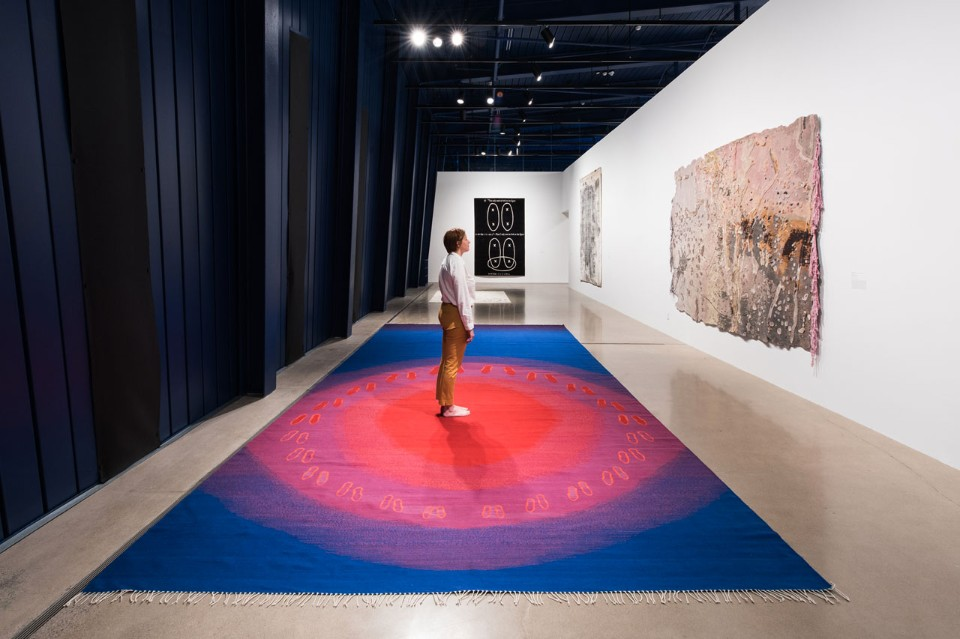 """Wall to Wall: Carpets by Artists"", MOCA Cleveland"
