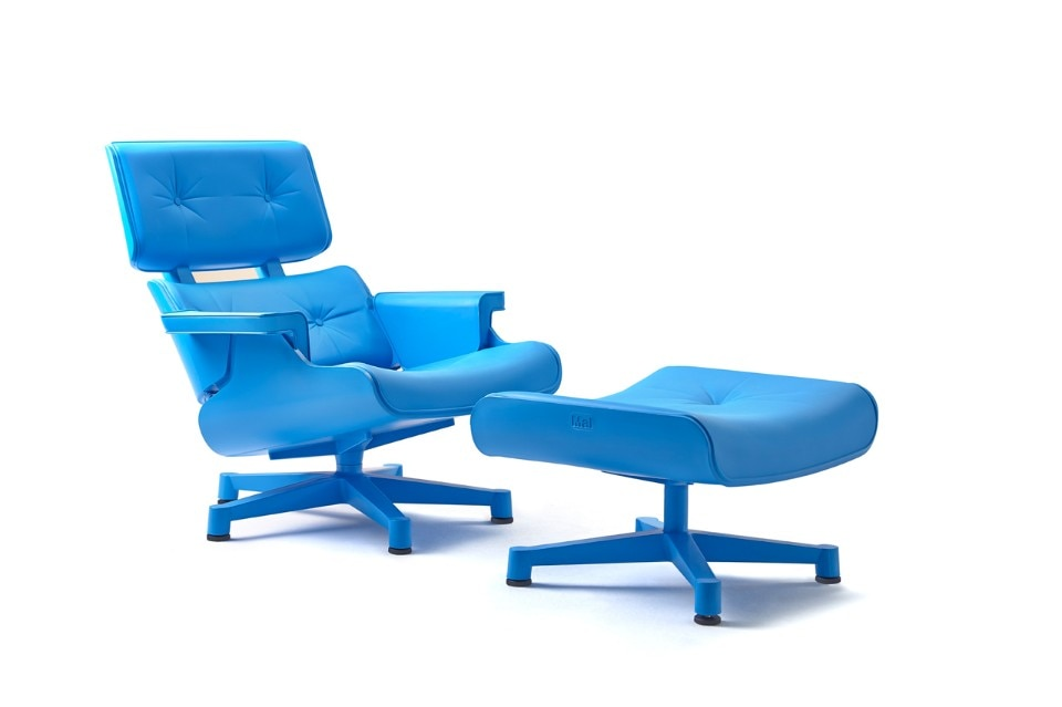 Copray & Wildenberg, Bob en Niels, Eames Lounge Outdoor Mal, 1956/2012, recycled polyethylene
