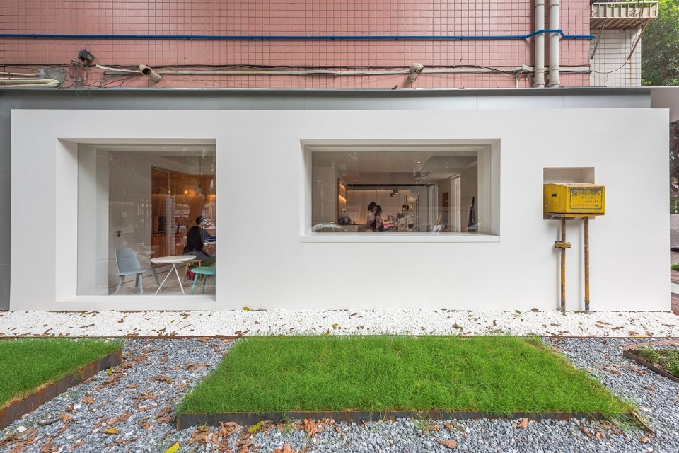 Atelier peter fong domus for Domus building cleaning