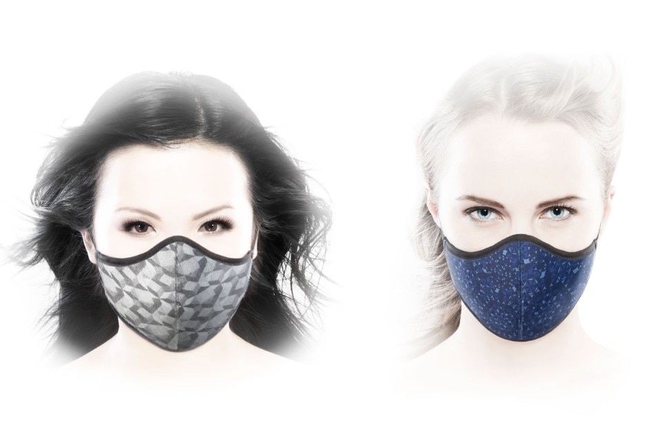 Marcel Wanders, Anti-pollution mask, produced by O2TODAY, 2016