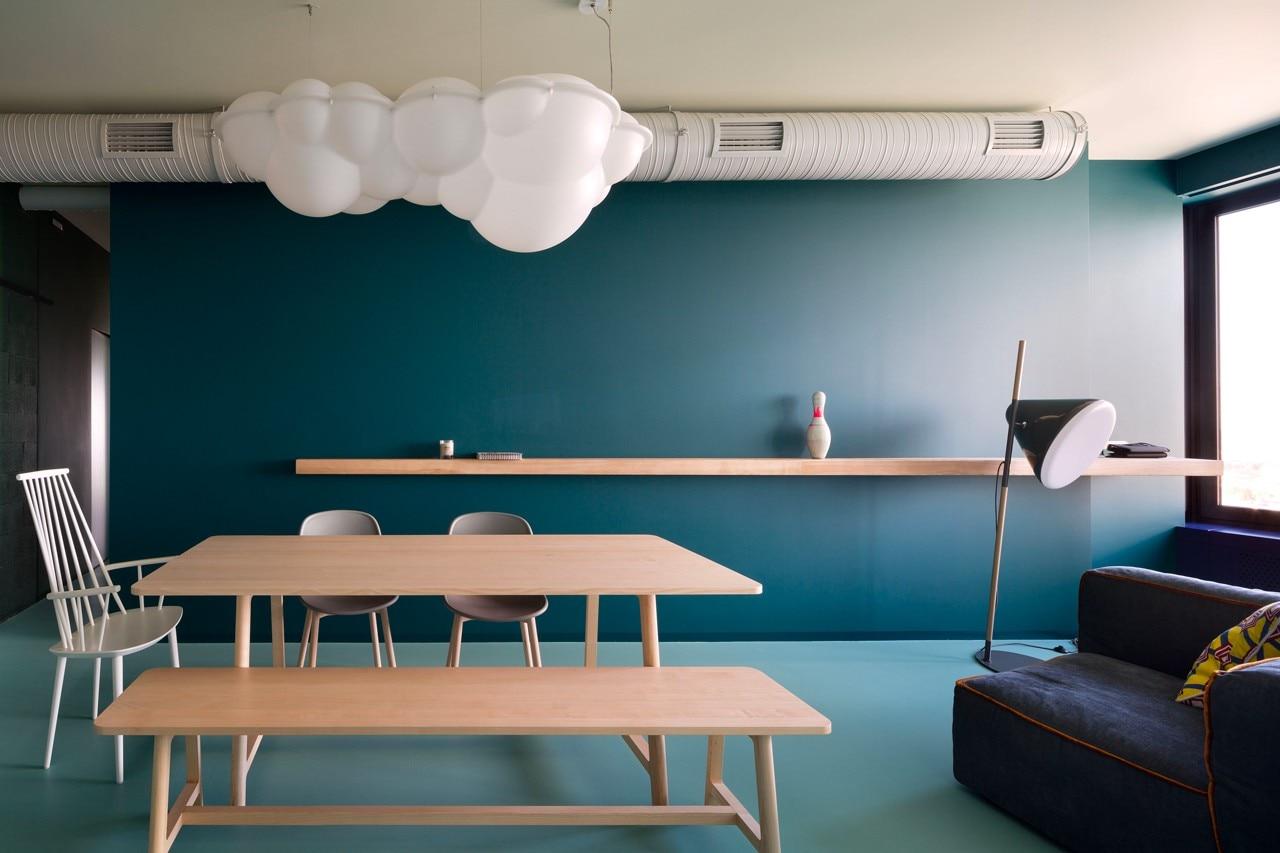 Green apartment domus for Domus green