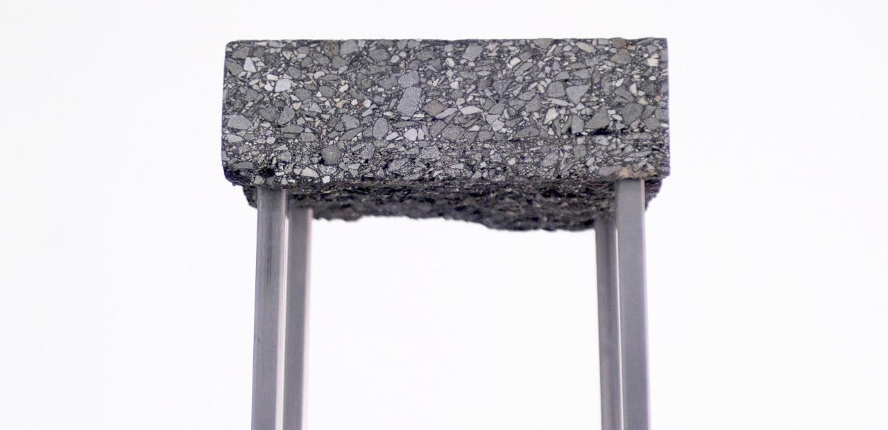 Asphalt stool - Domus