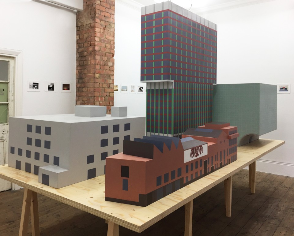 Caruso St John. Diorama, installation view at Betts Project, London, 2016