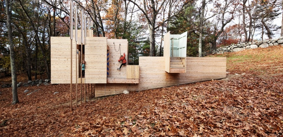 Matter Design and FR|SCH Projects, Five Fields Play Structure, Lexington, Massachussetts, 2016