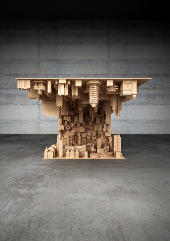 Stelios Mousarris, The Wave City table, 2016