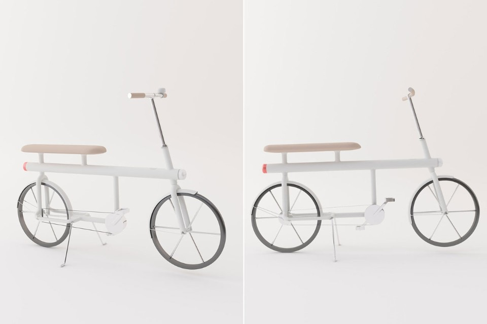 Design Academy Eindhoven, Bike for two for Punkt., 2017