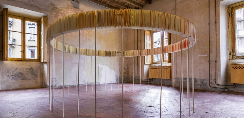 """Index Room"", installation view at Cascina Cuccagna, Milan, 2017"