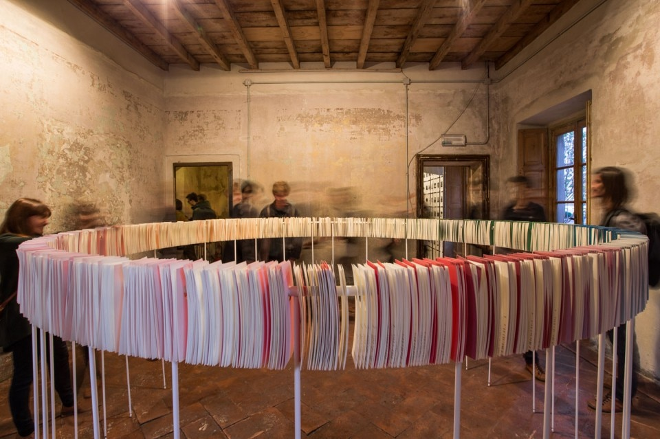 U67, Index Room, installation view at Cascina Cuccagna, Milan, 2017