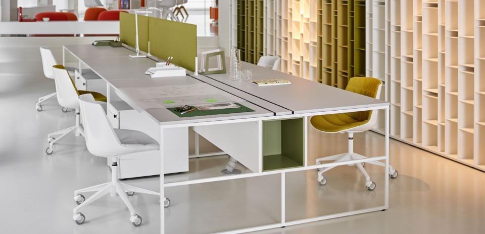 VENTI Desk System For MDF Italia, 2017