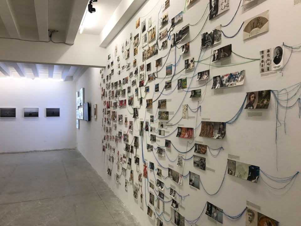 "View of the China Pavilion at the Biennale Arte 2017 ""Continuum – Generation by Generation"""