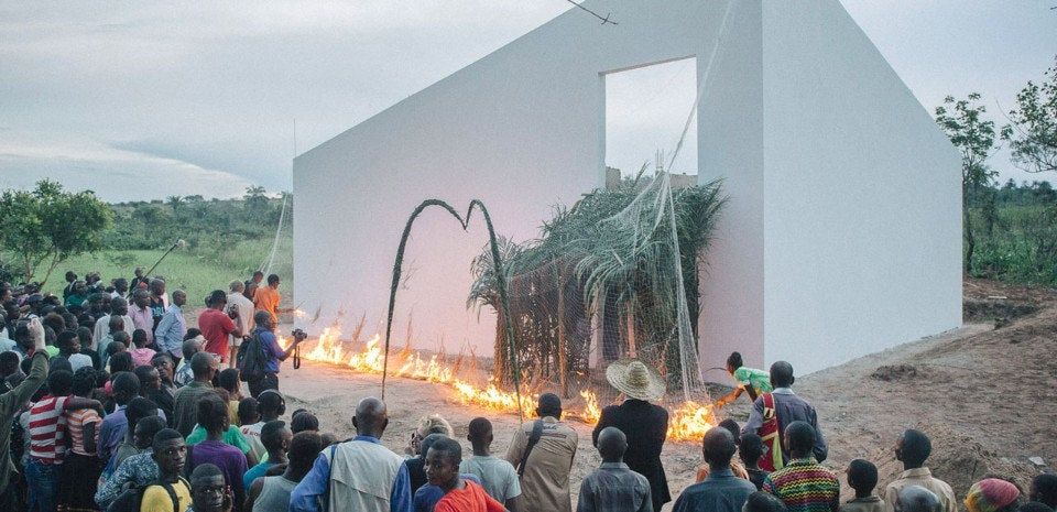 OMA, The White Cube, Lusanga, Congo, 2017