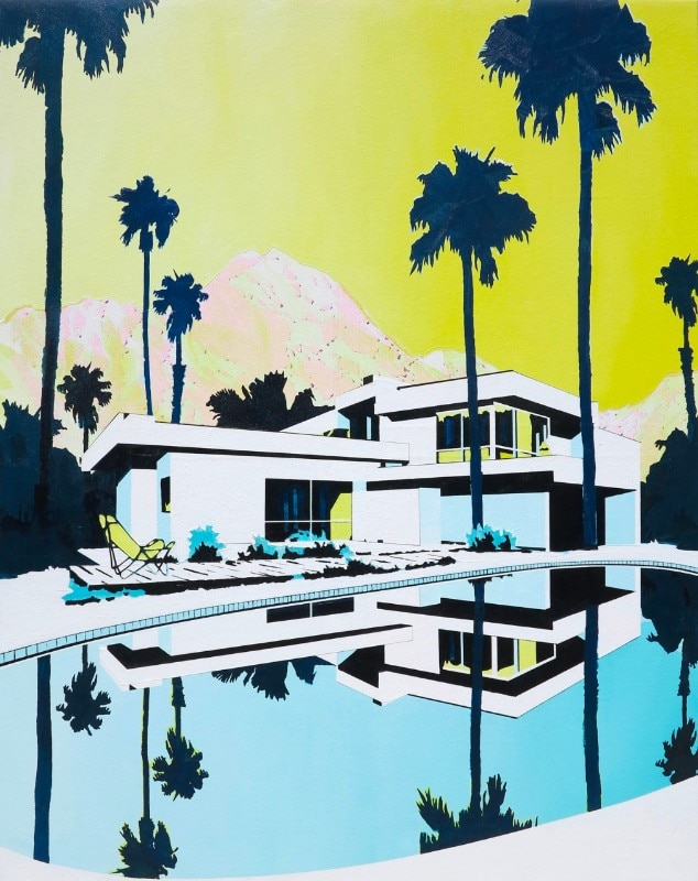 Paul Davies, Untitled (pool), 2017