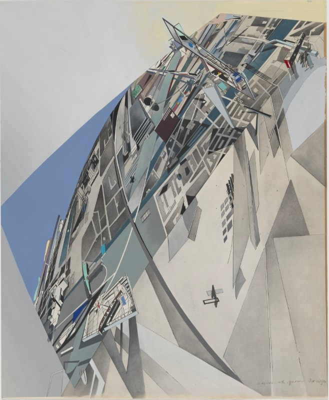 Zaha Hadid Drawing Techniques Drawing Ambience - Dom...