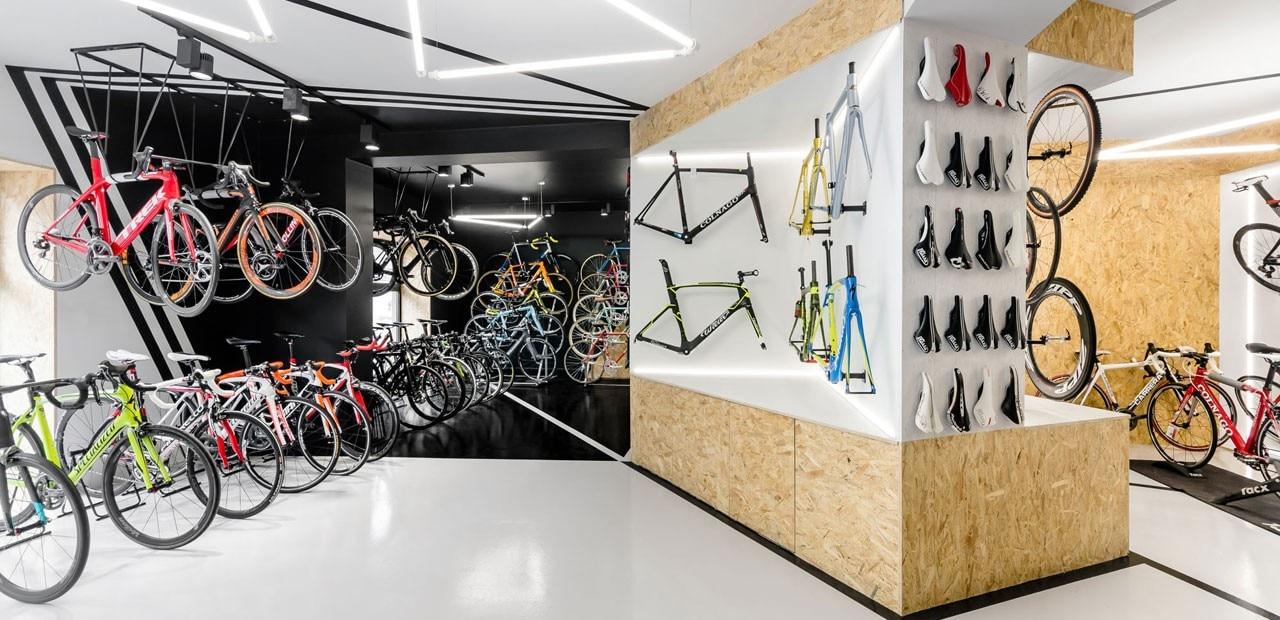 Vèlo7 bike shop - Domus