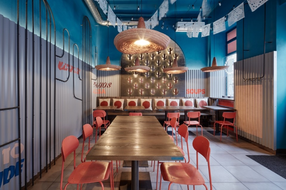 Prague Formafatal Designs The Interiors Of Burrito Loco Mexican
