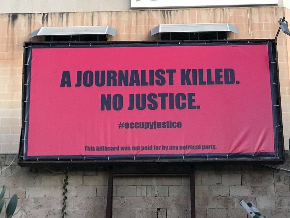 An Anonymous Group In Malta Seeks Justice For A Murdered Reporter