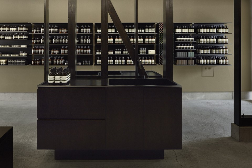 Case-Real, Aesop Kanazawa, Kanazawa, Japan, 2018. Photo courtesy of Aesop