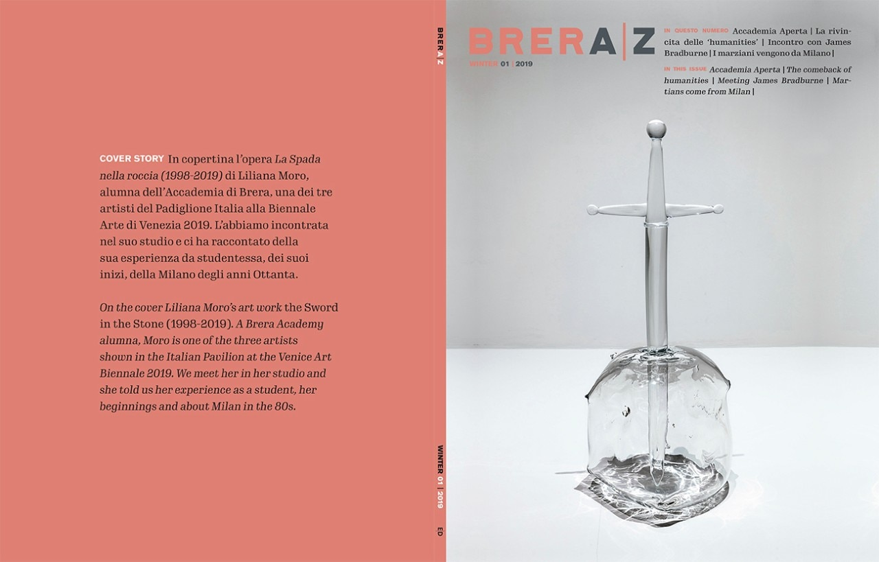 Nuova Accademia Del Design brera|z, a new italian-english magazine published by domus