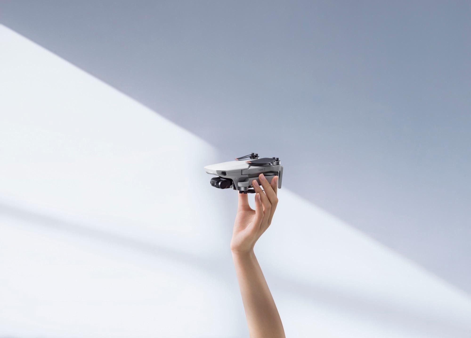 DJI Mini 2 is a 4K camera drone that weighs like a big ...