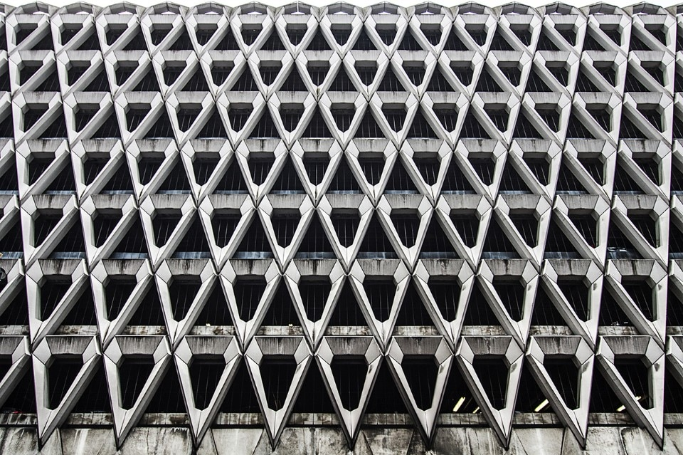 Michael Blampied & Partners, Henrietta Place – Welbeck Street car park, 1969. London, Great Britain. Photo Roberto Conte