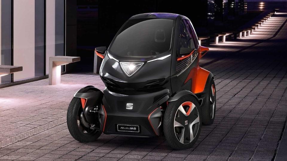 Seat Minimò La Mini Auto Elettrica Per La Mobilità Del Futuro Domus