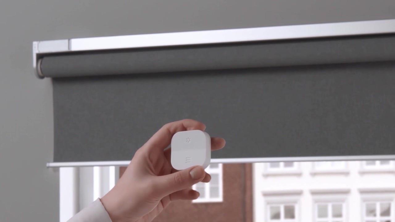 Ikea lancia le tende a rullo smart motorizzate e poco for Tende oscuranti a rullo ikea