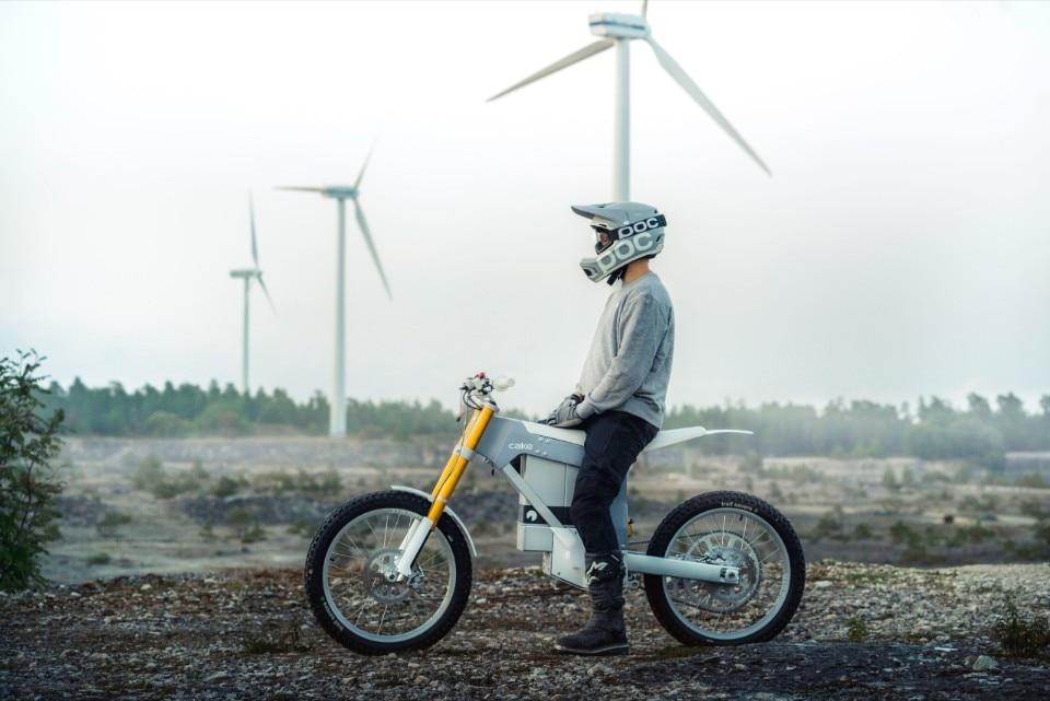 56962c547cf Kalk& is Cake's first street-legal electric motorbike - Domus