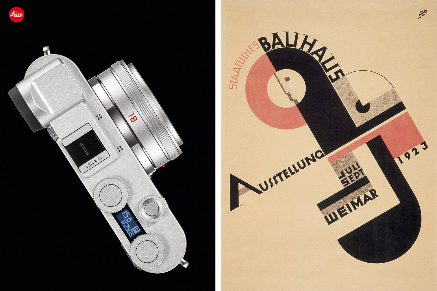 Leica CL Bauhaus, a special edition celebrates the centennial