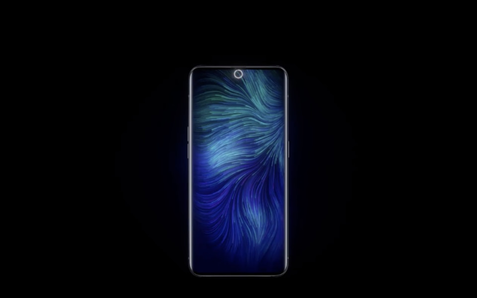 Oppo has unvelied the first under-display selfie camera - Domus
