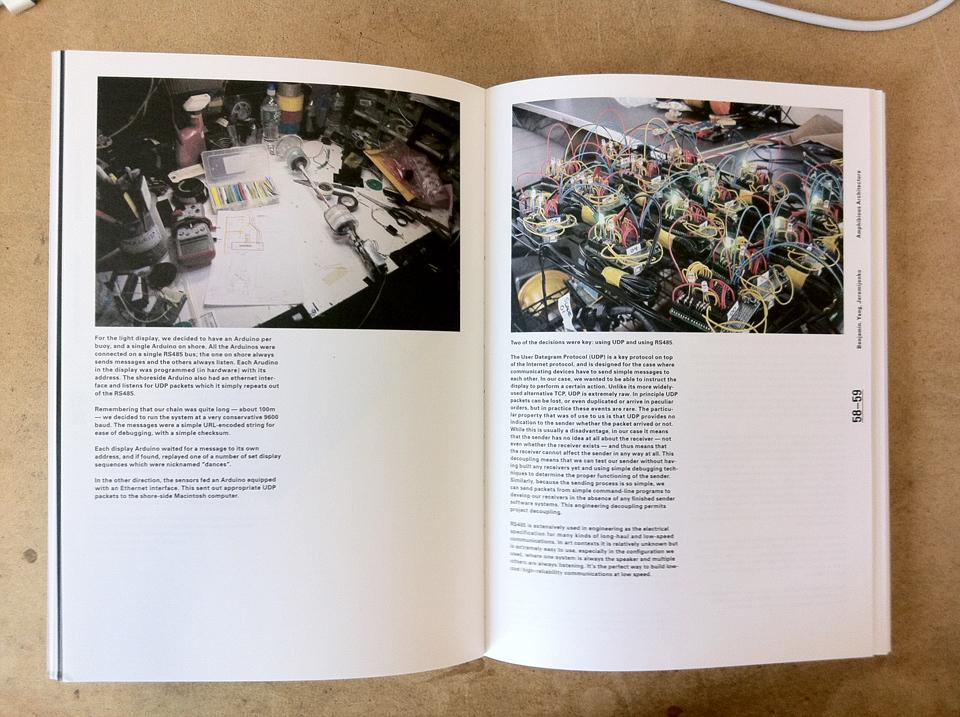 Spreads from <i>Sentient City</i>.
