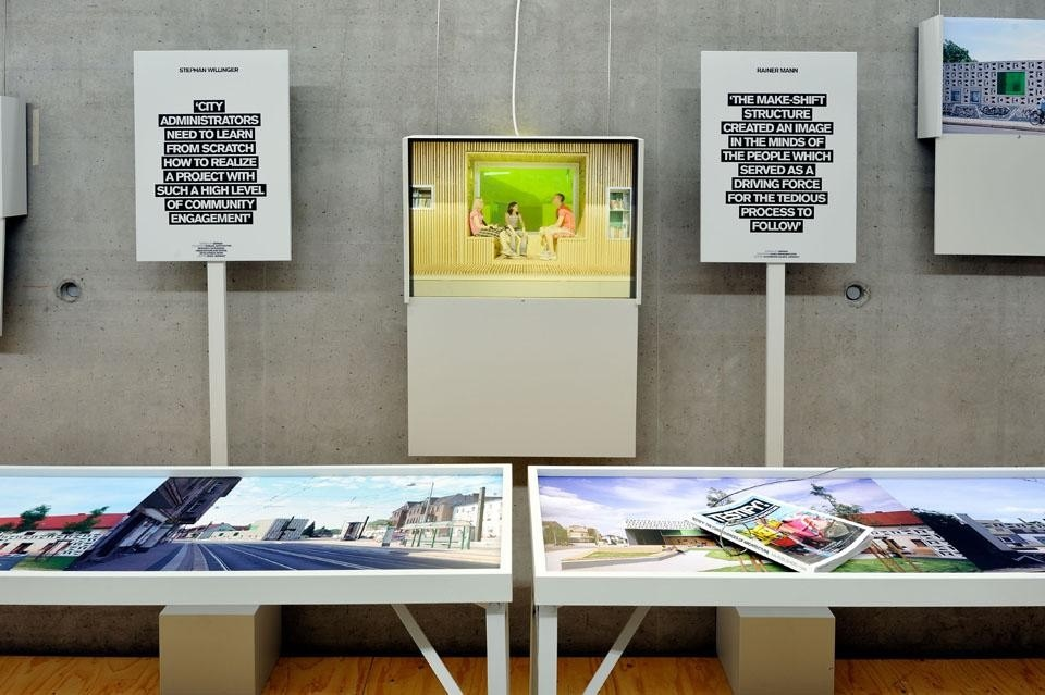 Installation view of <i>Testify! The Consequences of Architecture,</i> 1 July–13 November 2011, Nederlands Architectuur-instituut (NAi), Rotterdam.