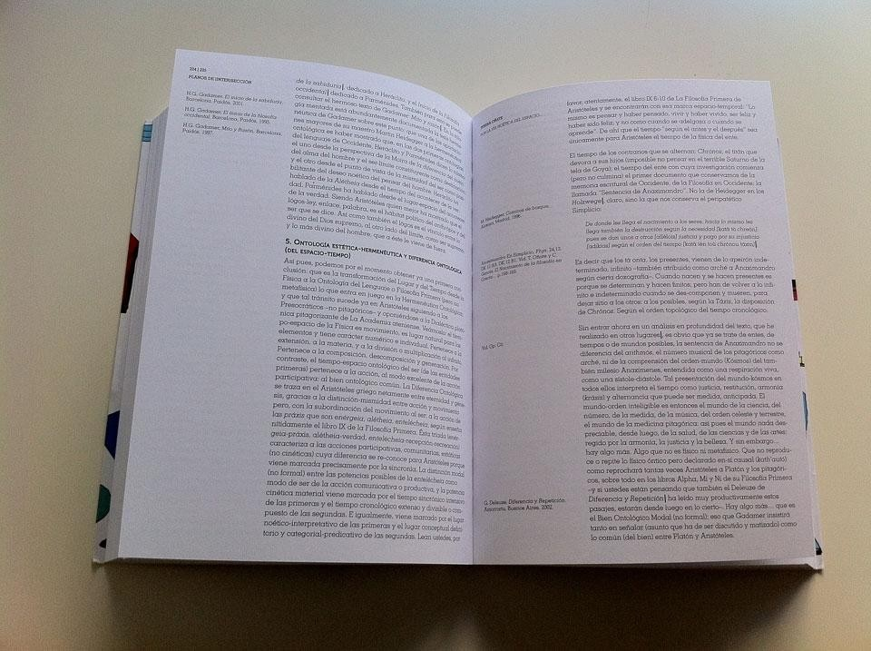 Luis Arenas and Uriel Fogué (ed.), <em>Planos de [Inter]sección: Materiales para un diálogo entre Filosofía y Arquitectura</em>[Plans of [inter]section. Materials for a dialogue between philosophy and architecture], Editorial Lampreave, 2011