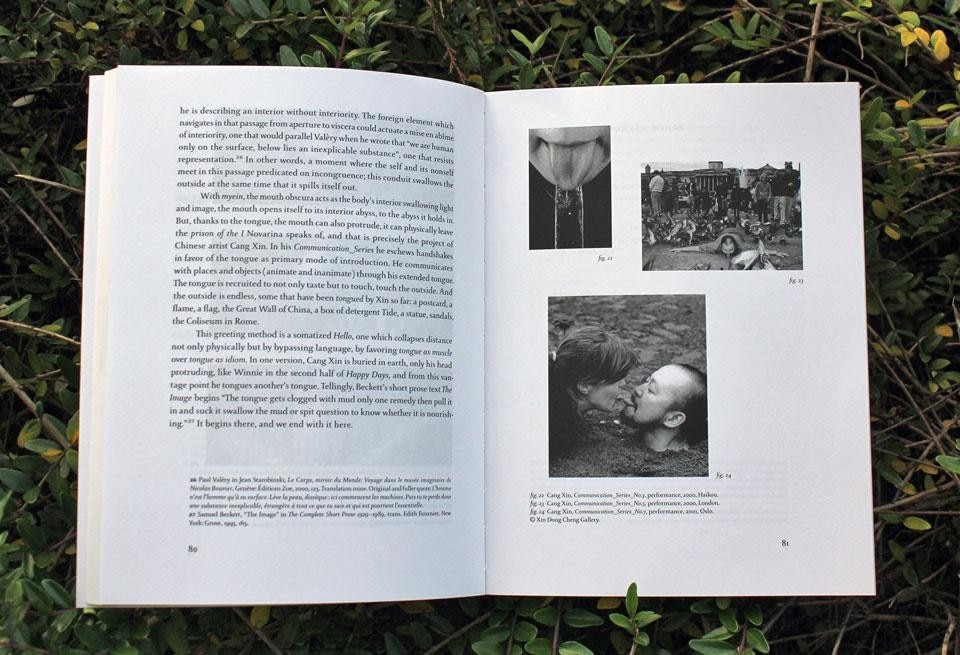 Christof Migone, <em>Sonic Somatic: Performance of the Unsound body</em>, Errant Bodies Publishing, Berlin 2012. Page detail