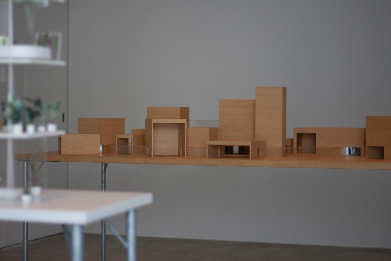 Ryue Nishizawa, Towada Art Center, Towada, Aomori, Japan, model, Towada Art Center