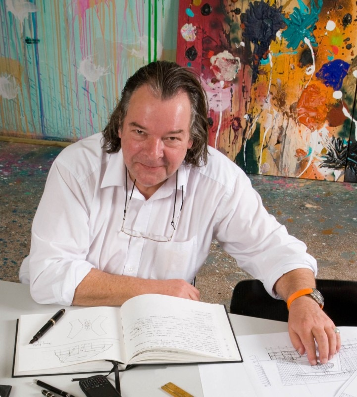 Will Alsop. Photo Malcolm Crowther
