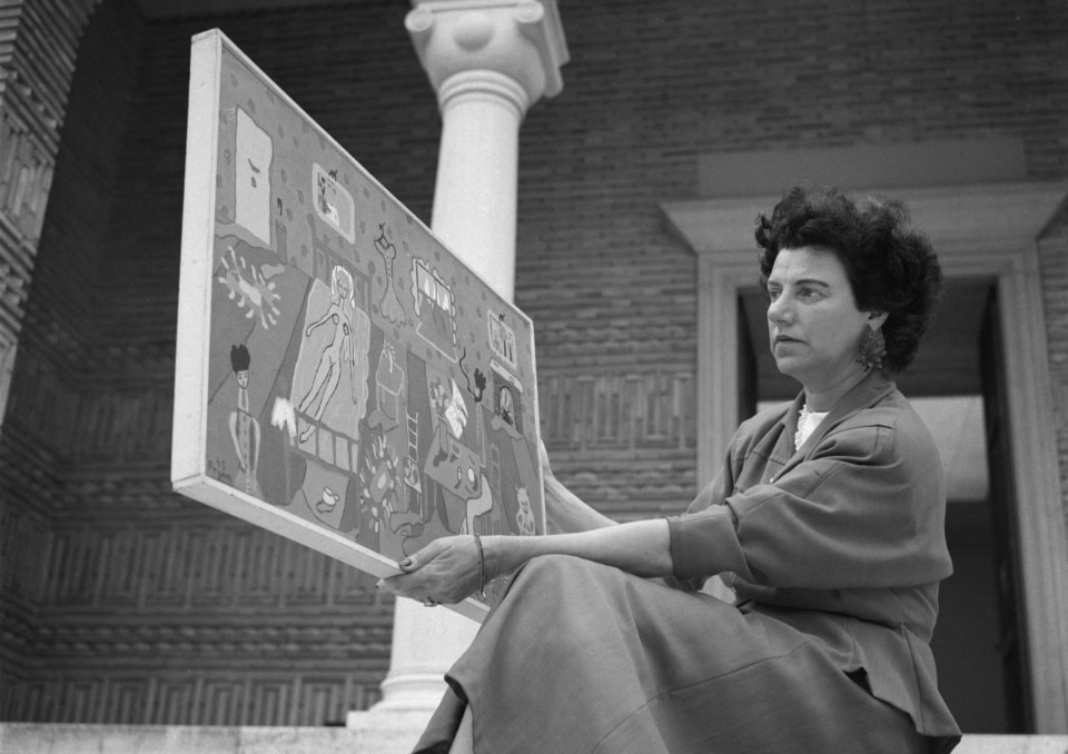 Peggy Guggenheim,  photo Archivio Cameraphoto Epoch