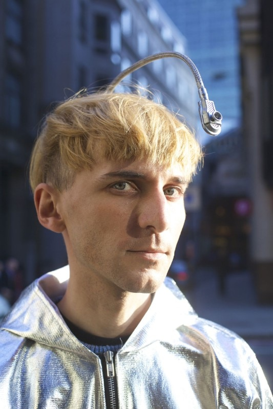 Neil Harbisson, photo Lars Norgaard