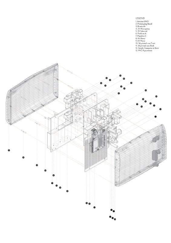 Sarotis Project, Interactive Architecture Lab, Bartlett School of Architecture, London, 2016
