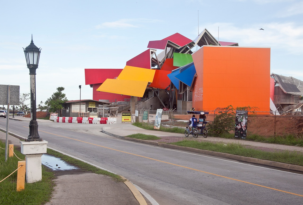 Biomuseo de Frank Ghery, Panam?. Photo Raphael Salazar