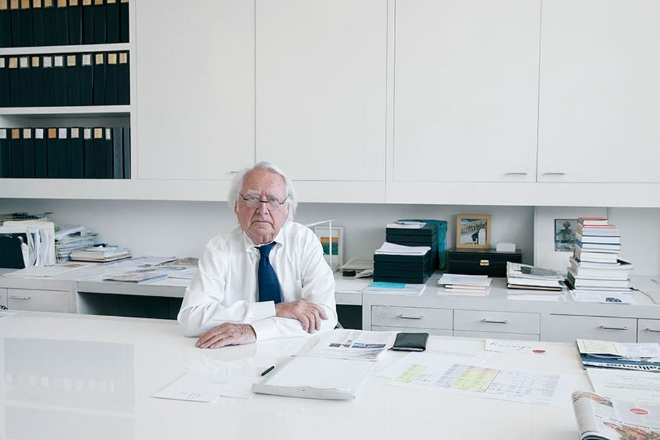 Richard Meier. Photo Yoo Jean Han