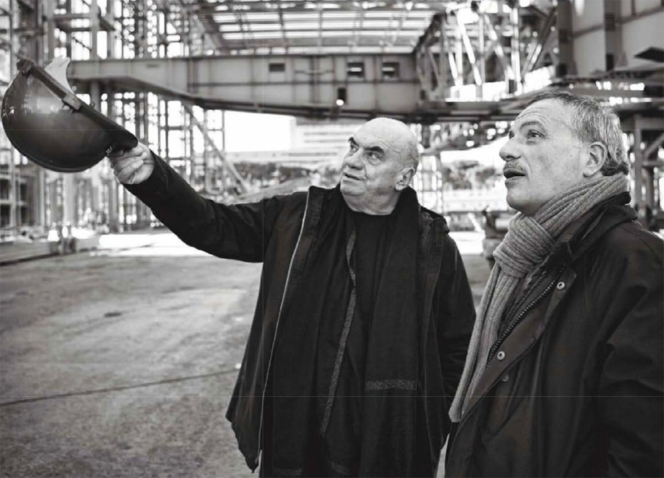 Massimiliano Fuksas. Photo © Mario Ermoli. From Domus 945, March 2011