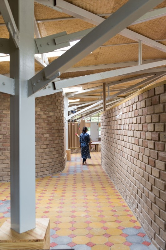 Biome Designed A Sustainable Learning Centre In Bangalore
