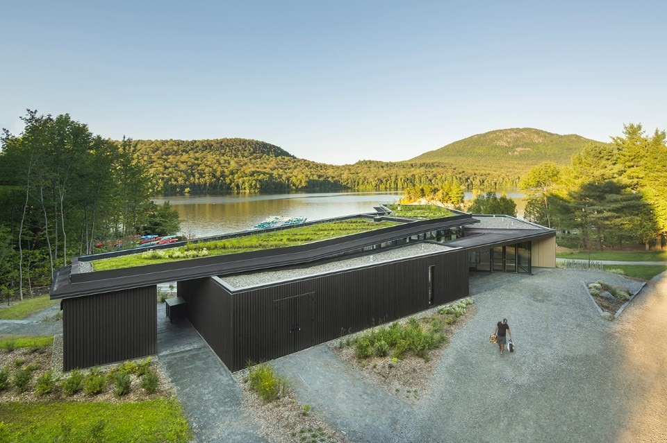 Canada  The tourist centre by Anne Carrier architecture is