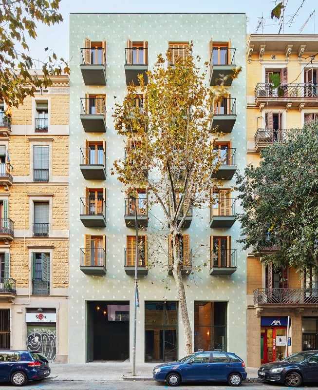 Barcelona Apartments San Jose: Barcelona. 110 Rooms Is A Flexible Housing Block By Maio