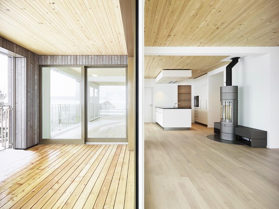 Lo studio ida ha realizzato due edifici residenziali di for Mazzocchi strutture in legno