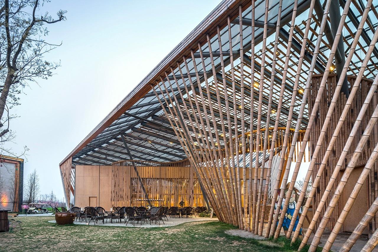 Cina Syn Architects Realizza Un Auditorium Integrato Nel